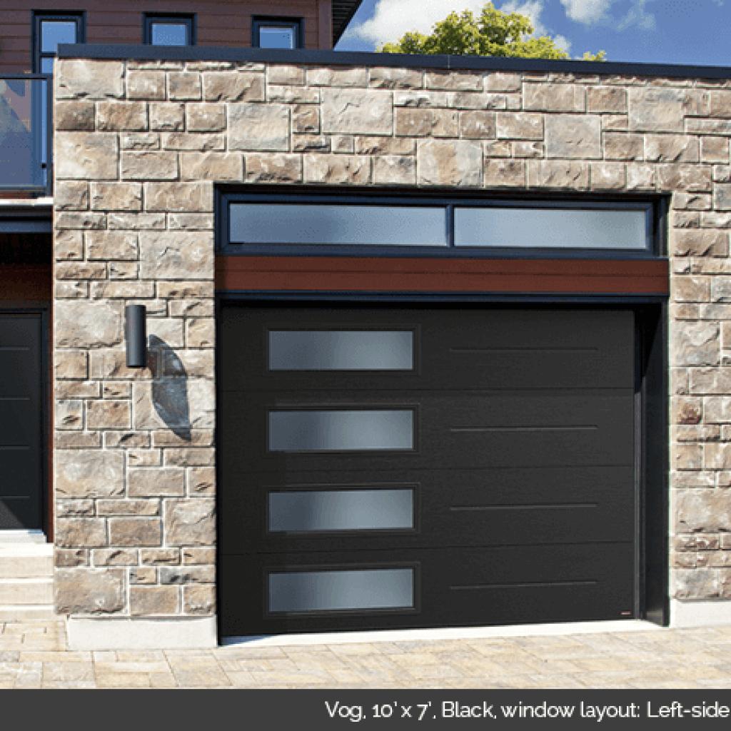 Standard contemporary door doctor for 10x11 garage door