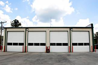 Commercial door garage