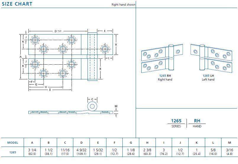 size chart 1265