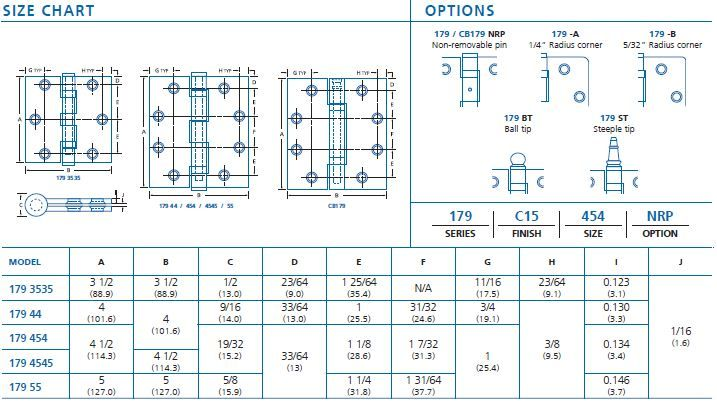 size chart 179