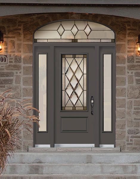 Gothic residential entry door door doctor for Residential entry doors