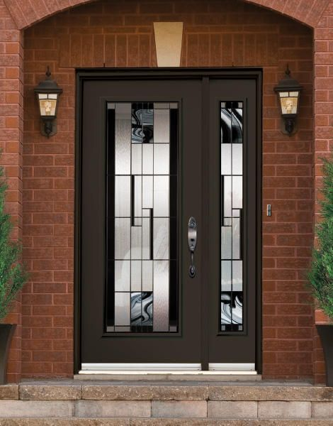 Kallima residential entry door door doctor for Residential front doors with glass