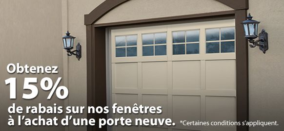 Fen tres porte de garage r sidentielle door doctor for Fenetre garage standard