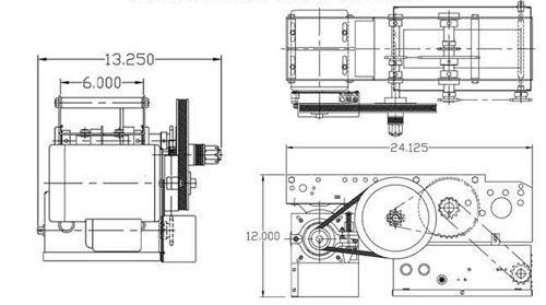 Sliding Door Pro SD - Dimensions