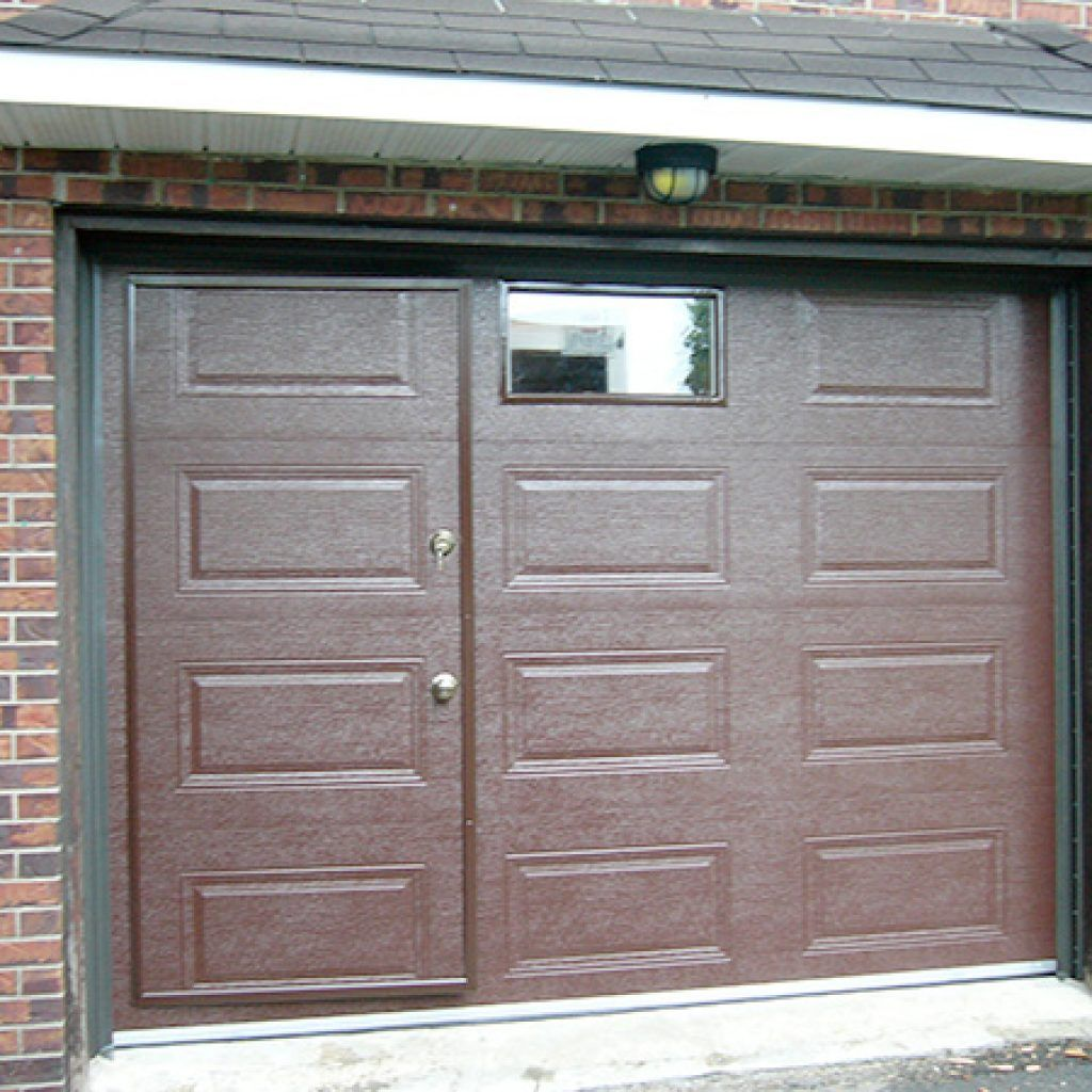 Pedestrian Door Specialized Door Within A Garage Door