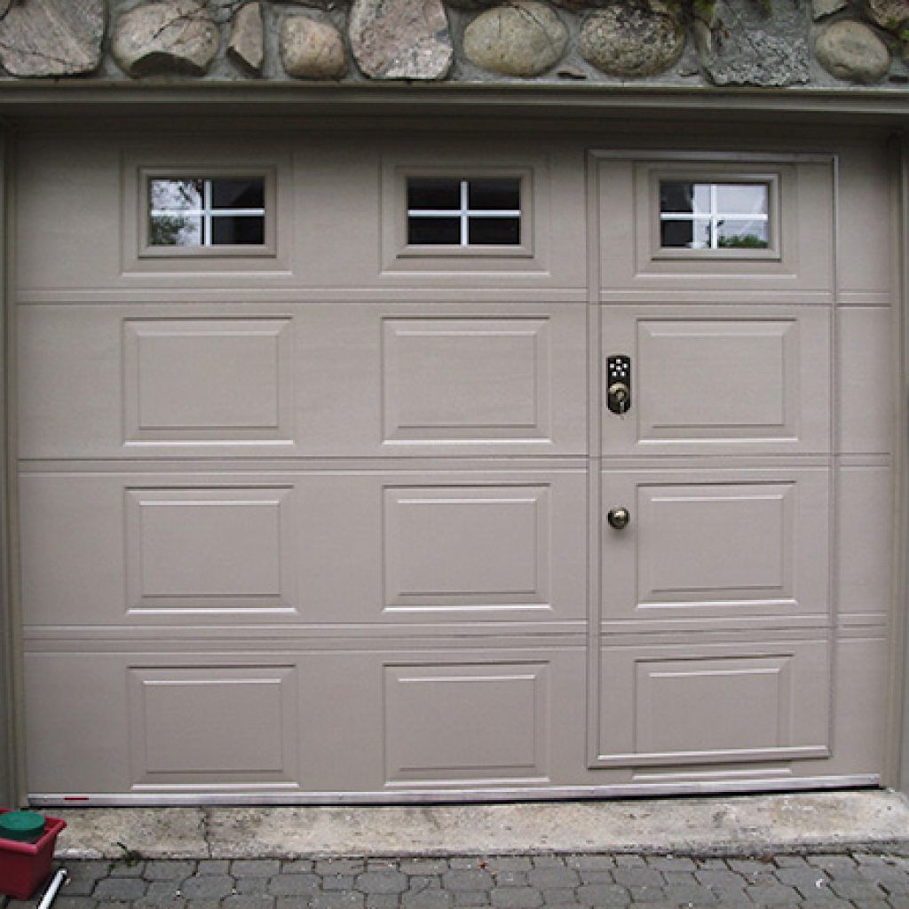 Pedestrian Door Specialized Within A Garage Doctor