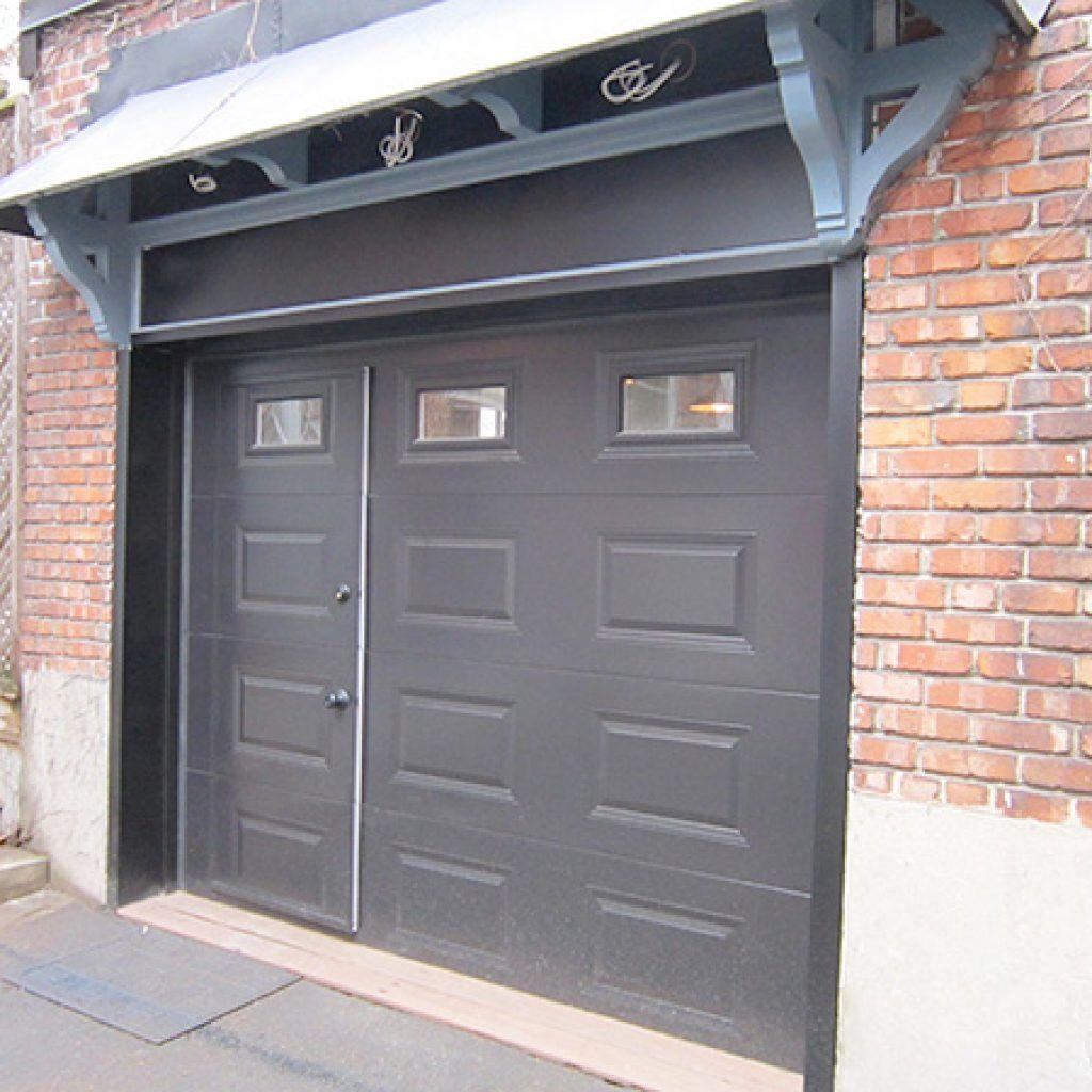 Exceptionnel ... Pedestrian Door   Specialized Door Within A Garage Door   Door Doctor  ...