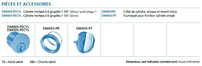 pieces DMDB