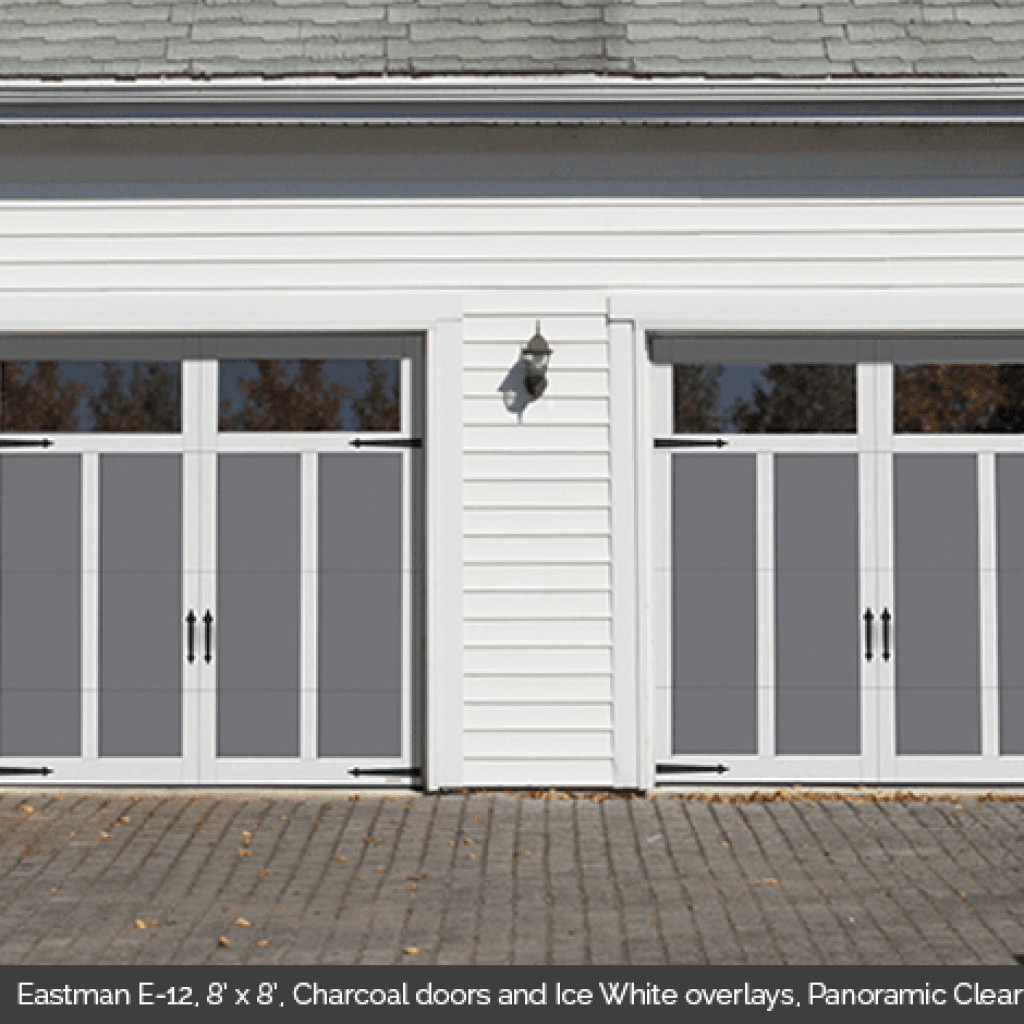 Eastman E 12 Township Traditional Style Garage Door