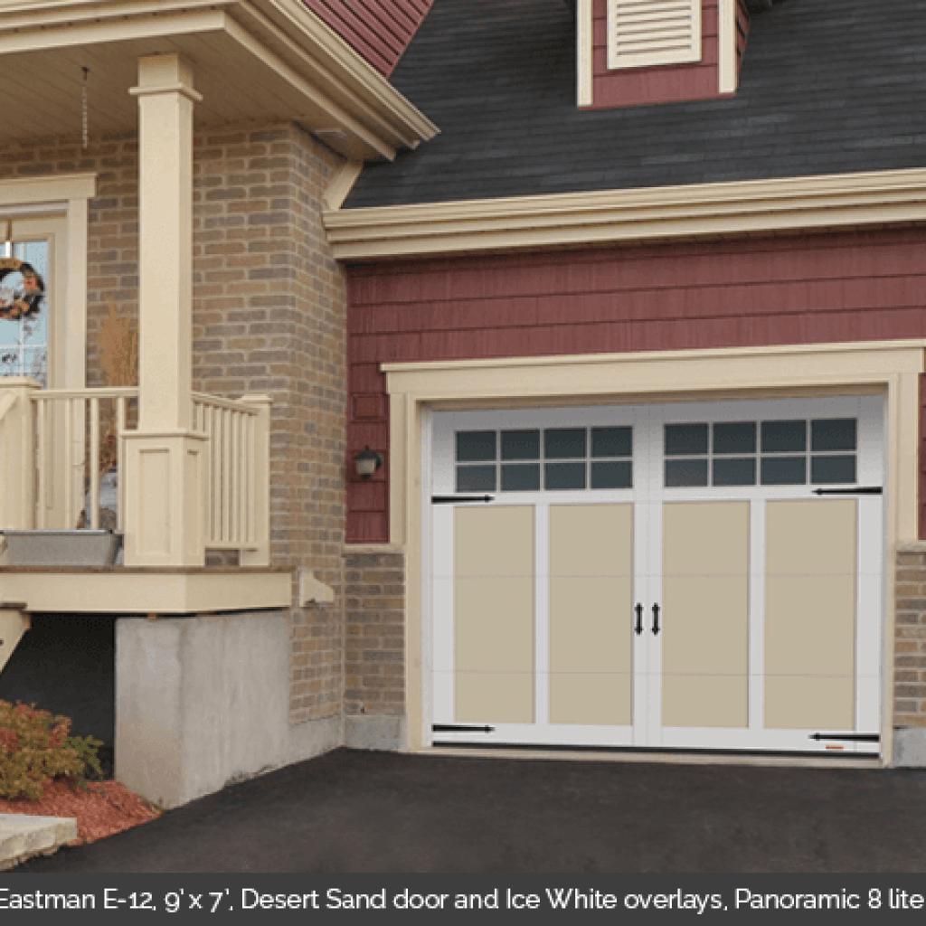 Eastman E 12 Township Traditional Style Garage Door