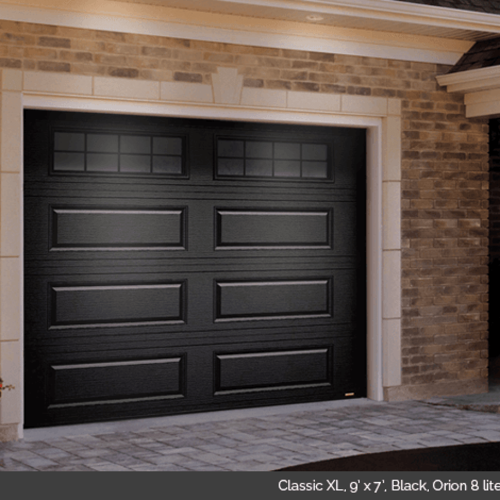 Classic Xl Residential Traditional Style Garage Door